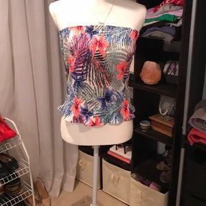 NWT Style Envy Tropical Tube Top